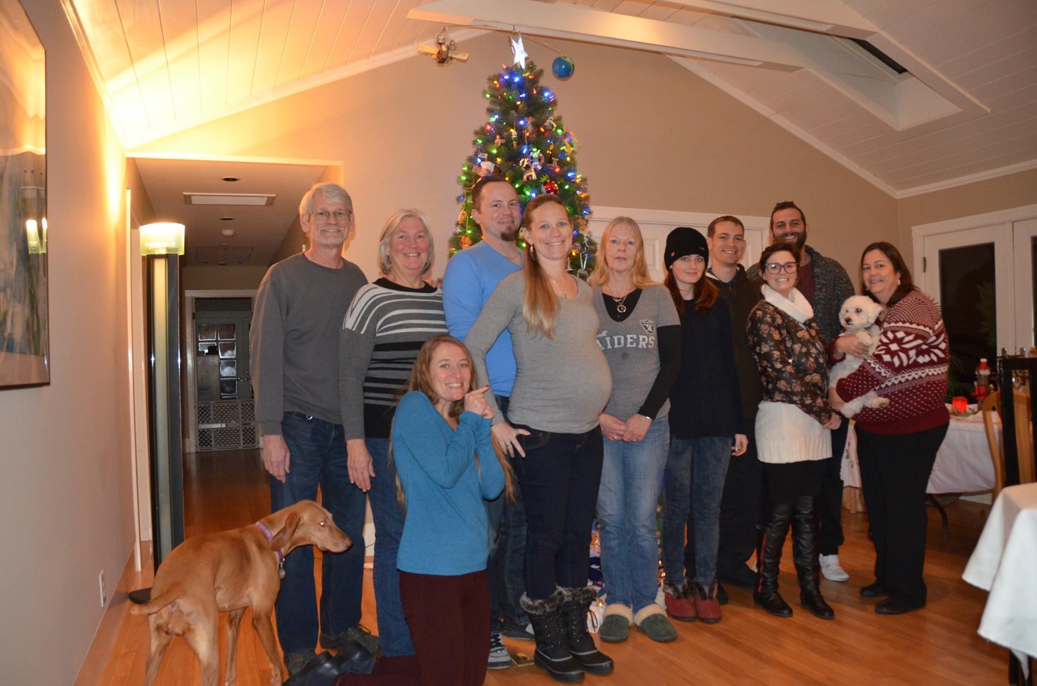 Christmas 2015 - McKeefery Family
