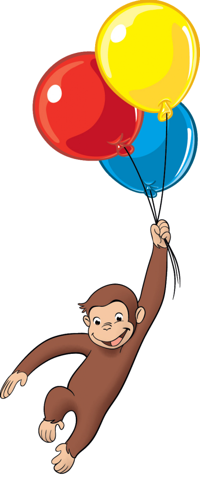 Curious George - Balloons Reverse