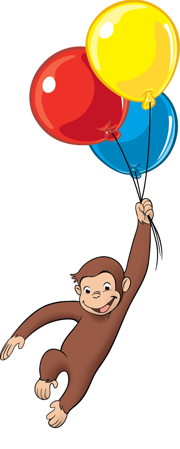 Curious George Balloons Pictures To Pin On Pinterest